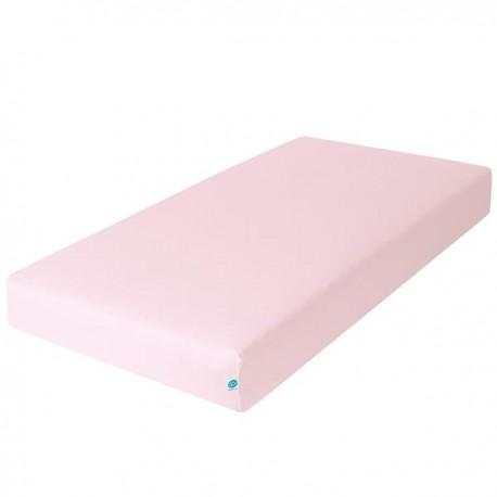 Prześcieradło 140x70 cm jersey Różowe Ceba
