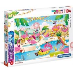 Puzzle dla dzieci Flamingos Party 6+ Clementoni