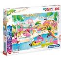 Puzzle Flamingos Party 6+ Clementoni