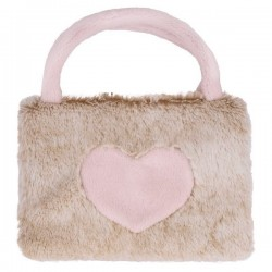 Króliczek torebka do ręki różowa Beppe