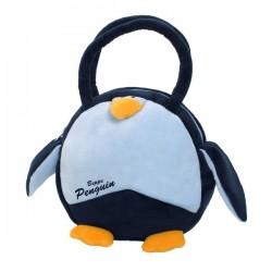 Okrągła torebka dla dziewczynki Pingwin Beppe