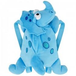 Dinozaur Dino plecak dla dziecka niebieski Beppe