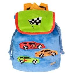Plecak dla przedszkolaka Wyścigówki Beppe