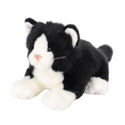 Pluszowy kot czarny 30cm Beppe