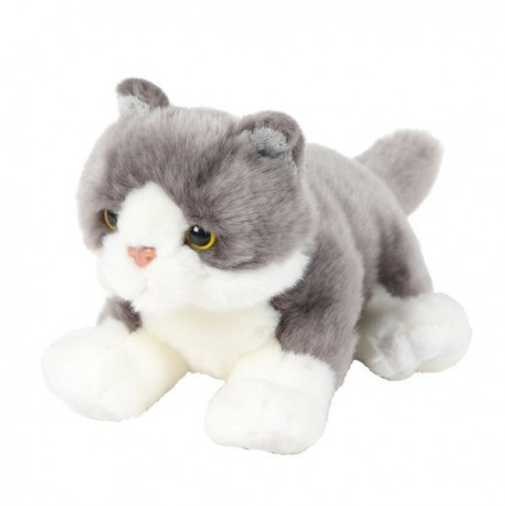 Pluszowy kot szary 30cm Beppe