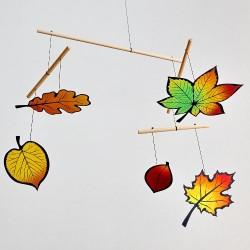 Mobil Montessori Jesienne Liście