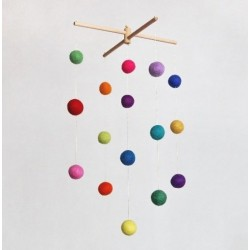 Mobil Montessori Eksplozja Kolorów