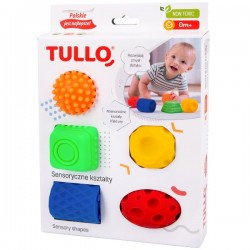 Sensoryczne Kształty 5 szt. Tullo