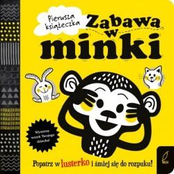 Pierwsza książeczka Zabawa w minki Wilga