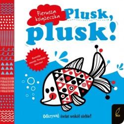 Pierwsza książeczka Plusk, plusk! Wilga