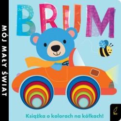 BRUM Książka o kolorach na kółkach Wilga