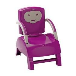 Krzesełko do karmienia - fioletowy