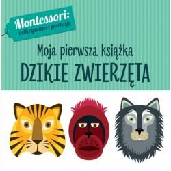 Książki Montessori Dzikie zwierzęta Wilga