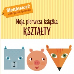Książki Montessori Kształty Wilga