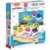 Puzzle Baby Shark 3+ 2x20el. Clementoni