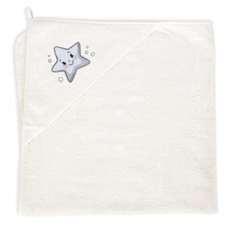Ręcznik z kapturkiem Creamy Star Ceba