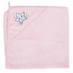Ręcznik z kapturkiem Pink Star Ceba