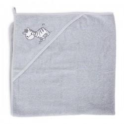 Ręcznik z kapturkiem Zebra Grey Ceba