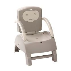 Krzesełko do karmienia - szary