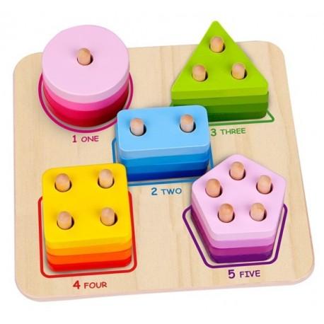 Sorter geometryczny Tooky Toy
