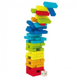 Kolorowa wieża Smily Play