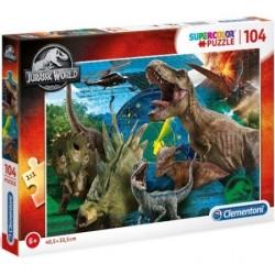 Puzzle Jurassic World 104-el. 6+ Clementoni
