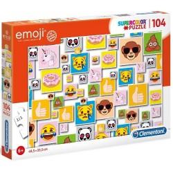 Puzzle dla dzieci Emoji 104-el. 6+ Clementoni