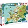 Puzzle Wspaniałe miejsca w Europie 7+ Clementoni