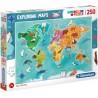 Puzzle Zwierzęta na świecie 7+ Clementoni