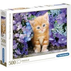 Puzzle Koty Ginger cat Clementoni