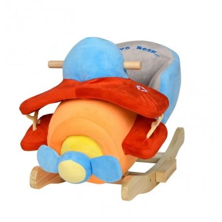 Bujaczek dla dziecka z dźwiękiem Samolot