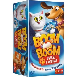 Gra planszowa Boom Boom - Psiaki i Kociaki Trefl