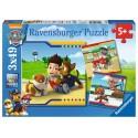 Puzzle Psi Patrol Najlepsi przyjaciele 3x49 Ravensburger