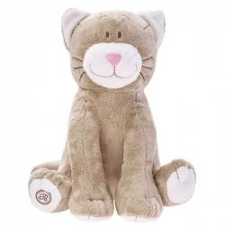 Pluszowy kot Flavio beżowy Beppe