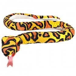 Pluszowy Wąż żółty 142cm Beppe