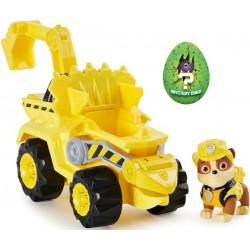 Psi Patrol Dino Rescue Rubble figurka + pojazd koparka Spin Master