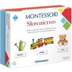 Montessori Słownictwo Clementoni