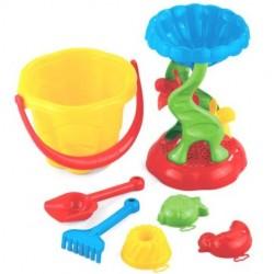 Zabawki do piasku mała FALA Z MŁYNKIEM Marioinex