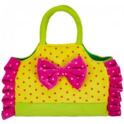 Urocza żółta torebka dla dziewczynki Beppe