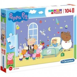 Puzzle Świnka Peppa 4+ Maxi 104-el. Clementoni