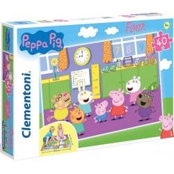 Puzzle podłogowe Świnka Peppa 3+ Clementoni