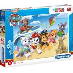 Puzzle Psi Patrol Na plaży 5+ Clementoni