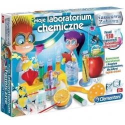 Moje Laboratorium Chemiczne 8+ Clementoni
