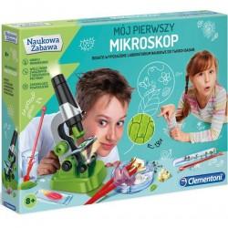 Mój pierwszy Mikroskop 8+ Clementoni