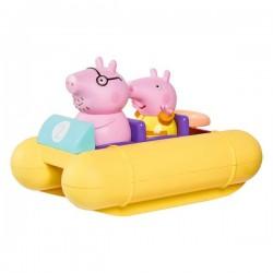 Świnka Peppa pływający ponton + figurki TOMY
