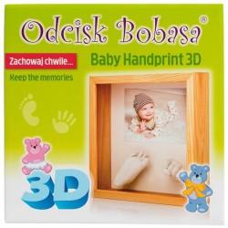 ODCISK BOBASA Ramka 3D
