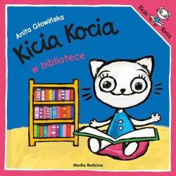 Kicia Kocia w bibliotece Anita Głowińska