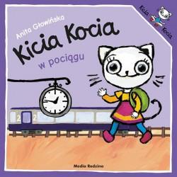 Kicia Kocia w pociągu Anita Głowińska