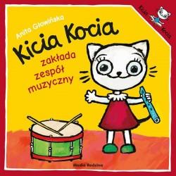 Kicia Kocia zakłada zespół muzyczny Anita Głowińska