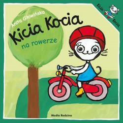 Kicia Kocia na rowerze Anita Głowińska